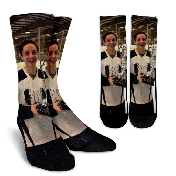 Eric Trophy Photo Socks