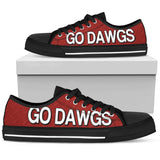 Georgia Go Dawgs Low Tops
