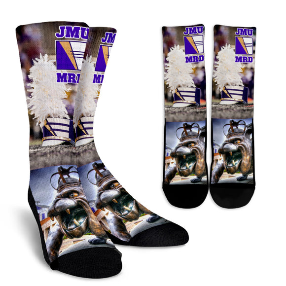 JMU MRD Uniform Hat Socks