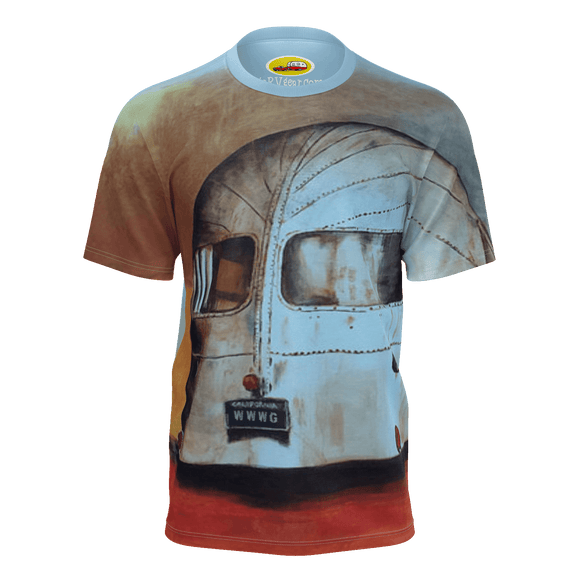 Vintage Boat Tail Airstream Tee