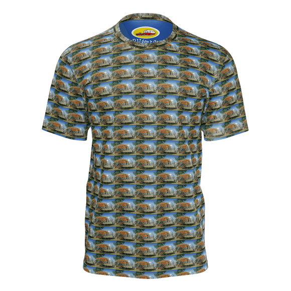 airstream awning pattern tee