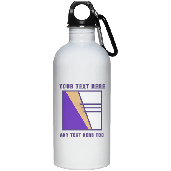 MRD CUSTOM 23663 20 oz. Stainless Steel Water Bottle