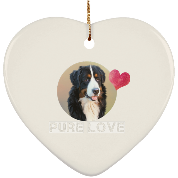 pure love SUBORNH Ceramic Heart Ornament