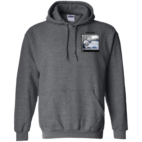 Typ 356 blue  personalized G185 Gildan Pullover Hoodie 8 oz.