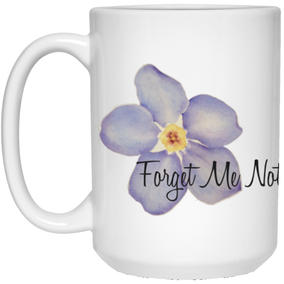 Forget me not mug 15oz