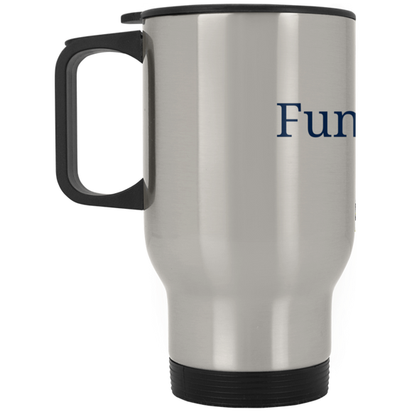 Funderbomb XP8400S Silver Stainless Travel Mug