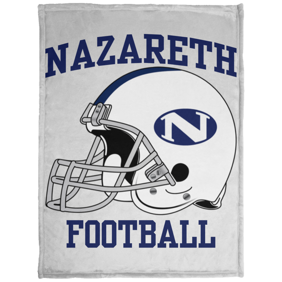 NAZ FOOTBALL KP1703 Baby Velveteen Micro Fleece Blanket - 30x40