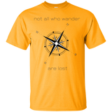 Not All Who Wander Custom Ultra Cotton T-Shirt