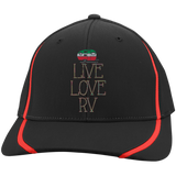 Live Love Flexfit Colorblock Cap