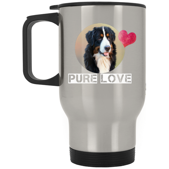 pure love XP8400S Silver Stainless Travel Mug
