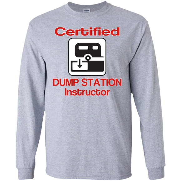 Certified Dump Instructor LS Ultra Cotton Tshirt