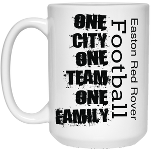 Easton Red Rover One City 15 oz. White Mug