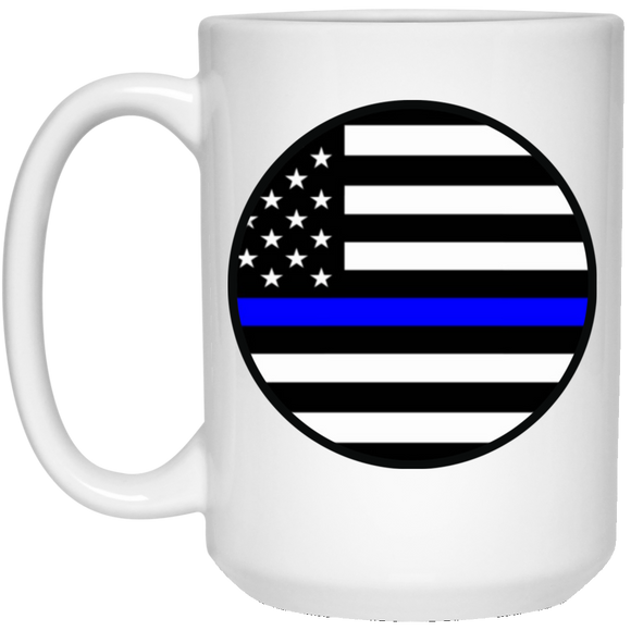 blm circle 21504 15 oz. White Mug