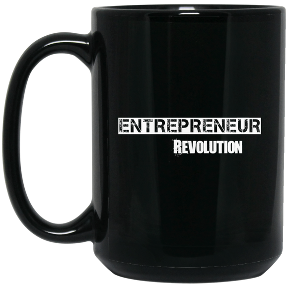 Entrepreneur Revolution BM15OZ 15 oz. Black Mug