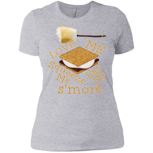 S'more Next Level Ladies' Boyfriend Tee