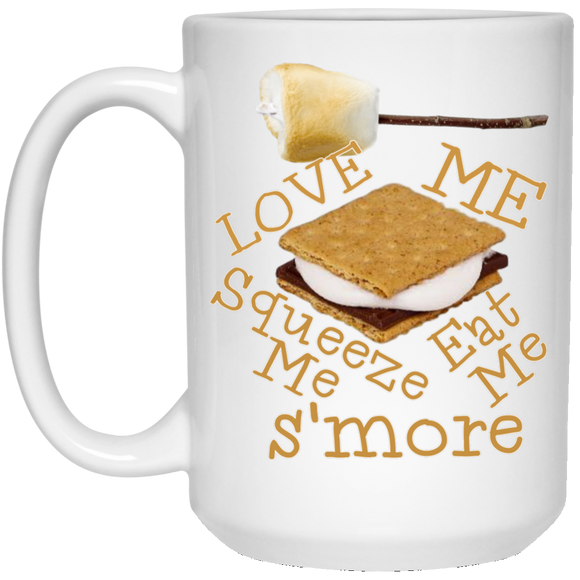Love me smore 21504 15 oz. White Mug