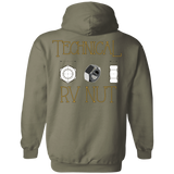 Technical rv nut G185 Gildan Pullover Hoodie 8 oz.