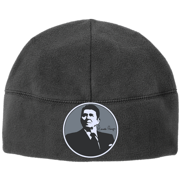 Reagan Gray Circle C918 Port Authority Fleece Beanie