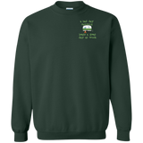 Work less G180 Gildan Crewneck Pullover Sweatshirt  8 oz.