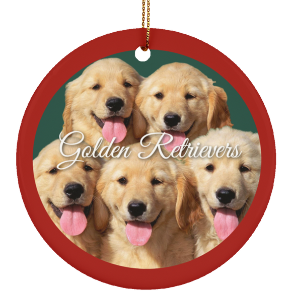 5 goldenz SUBORNC Ceramic Circle Ornament