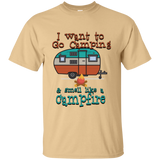 Smell Like A Campfire Custom Ultra Cotton T-Shirt