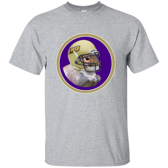 JMU Squirrel G200 Gildan Ultra Cotton T-Shirt