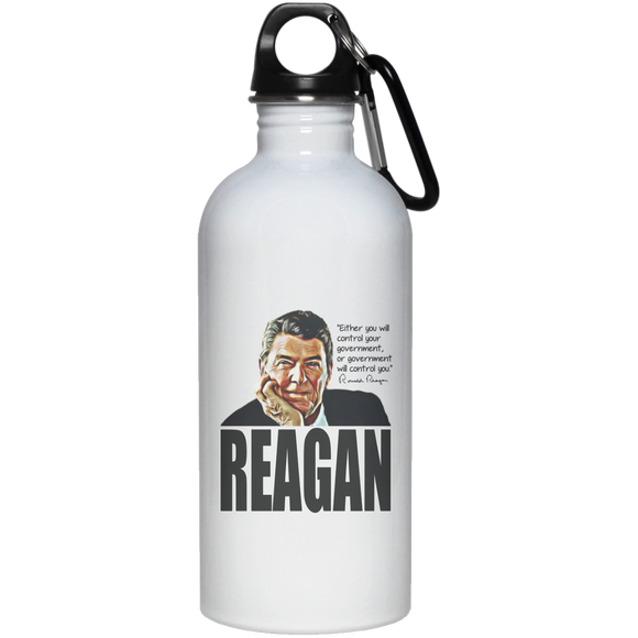 Reagan Control Gov 23663 20 oz. Stainless Steel Water Bottle