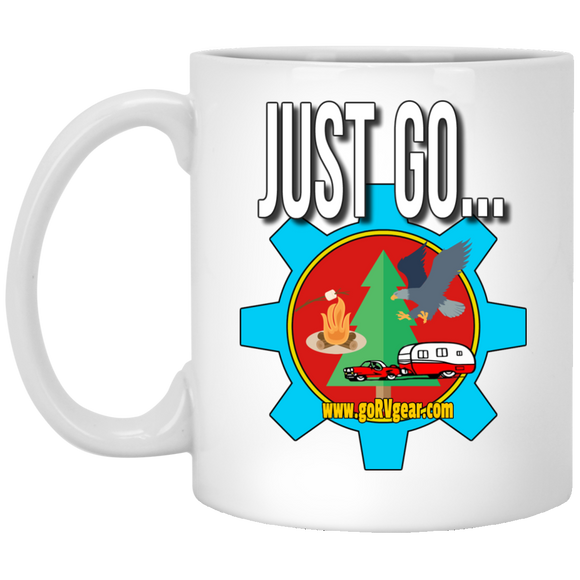 Just Go Mugs