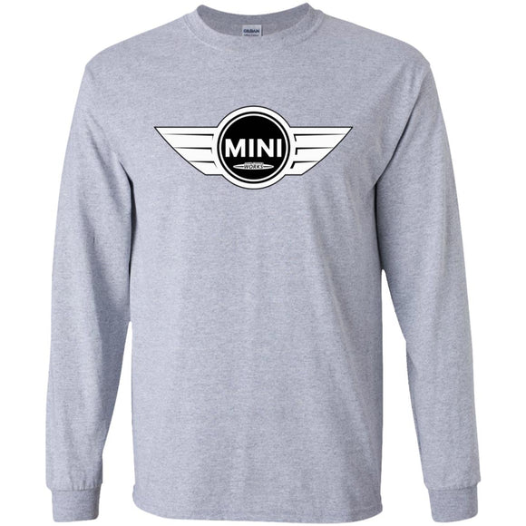 Mini jcw bw G240 Gildan LS Ultra Cotton T-Shirt