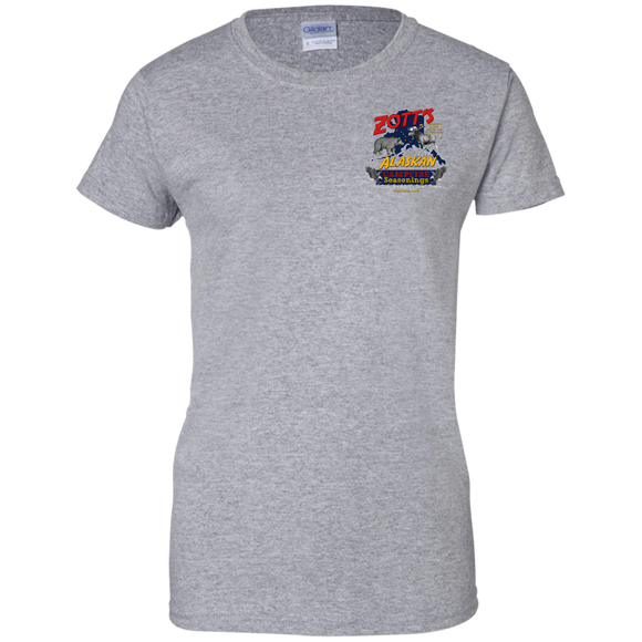 Zott's G200L Gildan Ladies' 100% Cotton T-Shirt