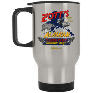 Zotts XP8400S Silver Stainless Travel Mug