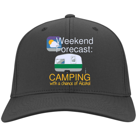 Weekend Forecast Twill Cap