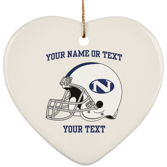 N helmet SUBORNH Ceramic Heart Ornament