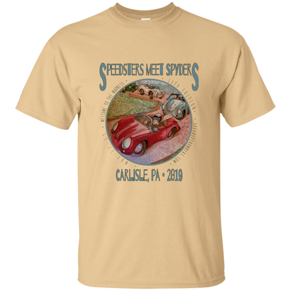 Speedsters Meet Spyders LB G200 Gildan Ultra Cotton T-Shirt