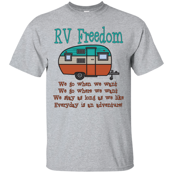 RV Freedom G200 Gildan Ultra Cotton T-Shirt