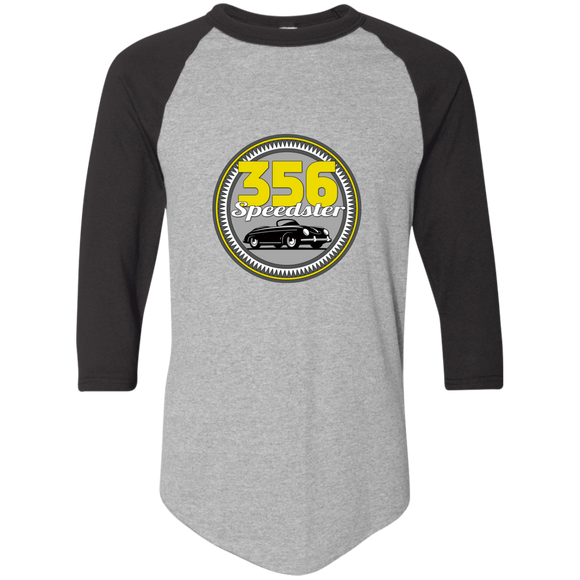 356 speedster badge 420 Augusta Colorblock Raglan Jersey