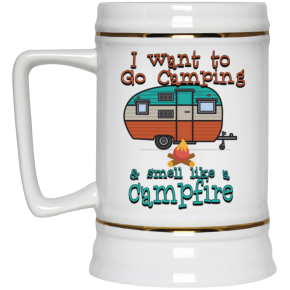 Smell Like A Campfire Beer Stein - 22 oz