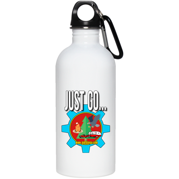 Just Go 20 oz Stainless Steel Water Bottle