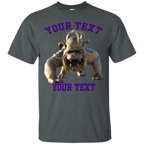 duke dog your text G200 Gildan Ultra Cotton T-Shirt