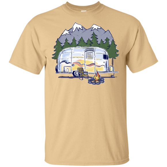Airstream campfire art G200 Gildan Ultra Cotton T-Shirt