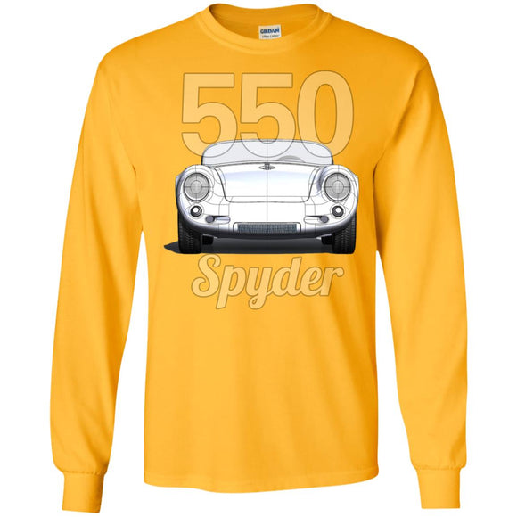 550 Spyder front & back G240 Gildan LS Ultra Cotton T-Shirt