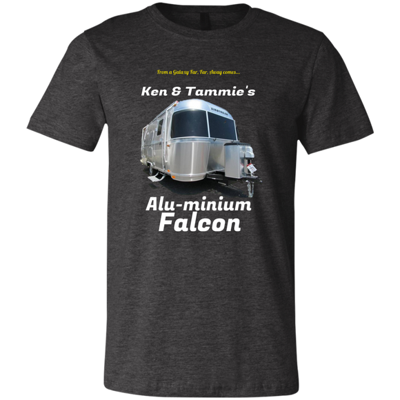 alu minium falcon 3001C Bella + Canvas Unisex Jersey Short-Sleeve T-Shirt