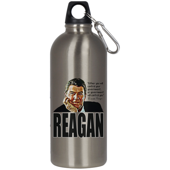 Reagan Control Gov 23624 Stainless Steel Silver Water Bottle