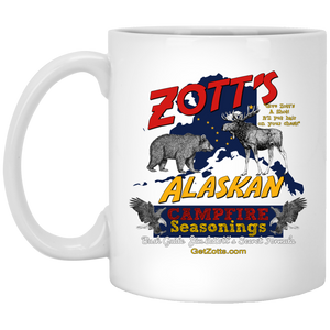 Zotts XP8434 11 oz. White Mug