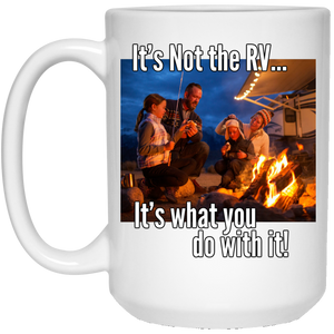 What you do with it 21504 15 oz. White Mug