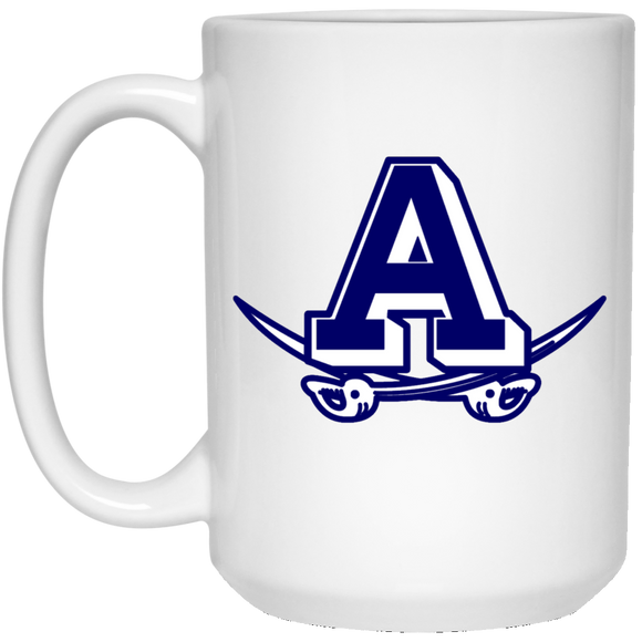Atlee Raiders 21504 15 oz. White Mug