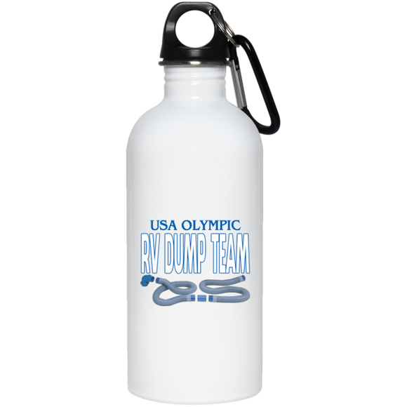 Olympic Dump Team 20 oz Stainless Steel Water Bottle