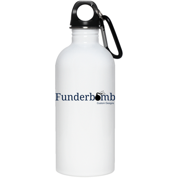 Funderbomb 23663 20 oz. Stainless Steel Water Bottle