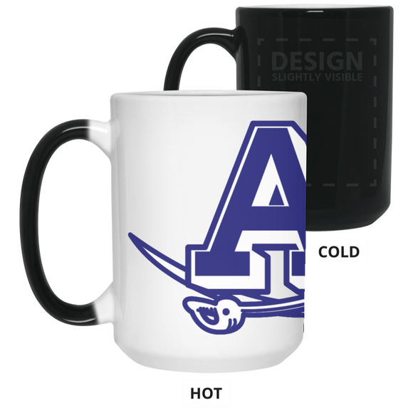 atlee swords 21550 15 oz. Color Changing Mug