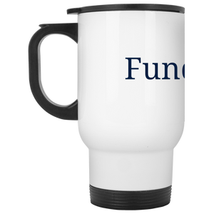 Funderbomb XP8400W White Travel Mug